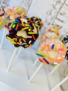 Excited to share this item from my #etsy shop: Donut Cake Pops #donutgrowup #sprinkles #donut #cakepops Dozen Donuts, 18th Cake, White Cake Pops, Cake Pop Stands, Ice Pack, Cakepops, Themed Cakes, Allergies, Sprinkles