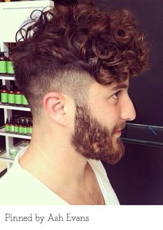 Long-top men's cut. Pinned by Ash Evans. Recreate it here... http://myhairdressers.com/hairdressing-training/classics-hair-cutting/tim-hartley-mens-graduation-disconnection.html