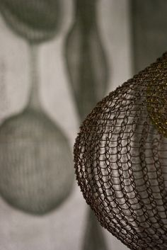 sculpture by ruth asawa by nervous system, via Flickr