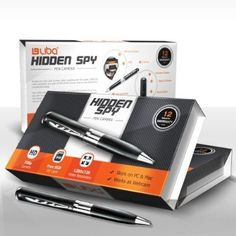 Hidden Spy Pen HD Camera & 720p Video Camera Recorder DVR - Record in 1280x720 HD Video Resolution - Free 8GB SD Card Included - For Sale