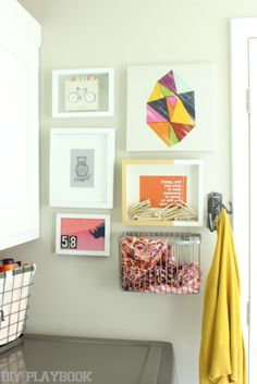 Laundry Room Refresh And Gallery Wall