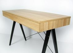 Biurko BLACK&WHITE marki MINKO www.euforma.pl #desk #home #office #design #room