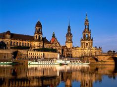 Dresden, night time