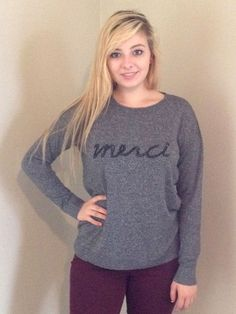 Merci Sweater - Wit & Whimsy