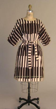 Marimekko belted dress,1972-74