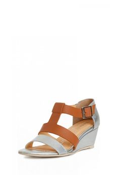 In step. Nanette Lepore Absolute Wonder Wedge in Camel | Made in USA