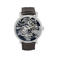 Intricate Watch Mechanism  #zazzle #watches #watch