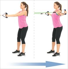 Reverse fly with exercise, resistance bands is one of the best exercises for working the Posterior Deltoid (Rear Shoulder). Deltoid Workout, Butt Workout, Workout Tips, Best Resistance Bands, Resistance Band Exercises, Best Shoulder Workout, Shoulder Exercises, Bursitis Shoulder, Stretch Band