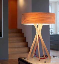 Tabletop lamp / contemporary / in wood ARBA by M. Thun & A. Rodriguez BELUX AG