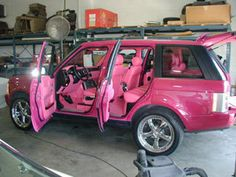 I almost bought a hot pink ford explorer but the girl kept changing her mind. sad day.