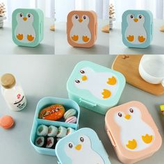 Plastic Cute Owl Bento Box Kids Lunch Box Food Container Box Microwavable is fashionable and cheap, come to NewChic to see more trendy Plastic Cute Owl Bento Box Kids Lunch Box Food Container Box Microwavable online. Lunch Box Containers, Food Storage Containers, Plastic Lunch Boxes, Bento Recipes, Lunch Box Recipes, Bento Kawaii, Kids Picnic, 21 Day Fix Meal Plan, Little Lunch