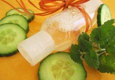 Recette : Eau micellaire yeux et peaux sensibles Mélisse & Concombre - Aroma-Zone
