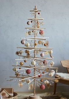 5 and 6 FT Beaded Wood Christmas Tree 5 foot Beaded Wood Christmas Tree Christmas Tree 8 Foot, Christmas Tree Storage, Unique Christmas Trees, Christmas Crafts For Gifts, Xmas Tree, Simple Christmas, White Christmas, Christmas Diy, Christmas Ornaments