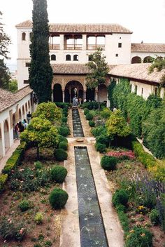 Alhambra, Granada where I first fell in love with courtyards