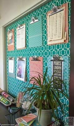 New home office desk organization diy bulletin boards ideas Office Bulletin Boards, Bulletin Board Design, Fabric Bulletin Boards, Decorative Bulletin Boards, Guidance Bulletin Boards, Spanish Bulletin Boards, Counselor Bulletin Boards, Seasonal Bulletin Boards, Family Bulletin Boards