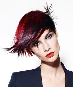 fashion hair color short asymmetrical haircuts http://pinterest.com/NiceHairstyles/hairstyles/