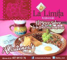 La mejor cocina regional... venga a La Limita Restaurante!! #LaLimitaRestaurante