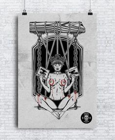 I'm still lookin' #dribbble #dribbbleinvite. Contact me please plarge90@gmail.com if you have one #illustrator #graphicdesign #graphicdesigner #print #printdesign #printdesigner #poster #illustration #illustrator #tattoo #streetwear #streetart #hardscore #hardcoreladies #hook #vsmpzd #hardcore #bloody #boobs by instagram.com/the_shodan