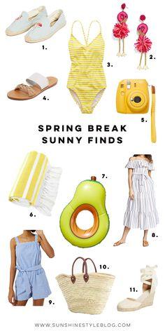Spring Break Sunny S
