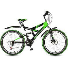 Hero Next 26T 18 Speed Sprint Bike with disc brake- Green & Black (18