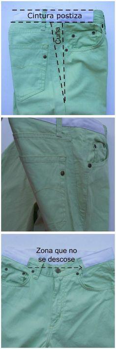 Как расширить брюки...<3 Deniz <3
