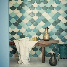 badkamer in hammam stijl - Marokkaanse tegeltjes - zelliges