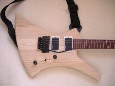 Fabrication d'une Guitare Electrique (Complete) - Guitare