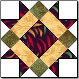 Beacon Lights free quilt block pattern