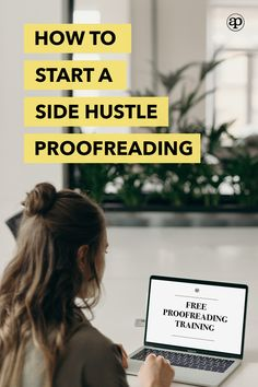 If you love to read, freelance proofreading and editing could be for you. You don't need a degree or prior experience, just an eye for detail to start. This masterclass that's taught by an editor has helped launch many successful businesses and side hustles, so sign up to watch while you can! | become a freelance proofreader | freelance editor | freelance proofreading business ideas | freelance editing and proofreading jobs | freelance proofreading at home | side gig | make extra money Work From Home Opportunities, Work From Home Tips, Earn Money From Home, Way To Make Money, How To Make, Writing A Book, Writing Tips, Proofreader, Transcription