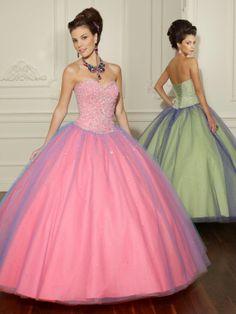 Asombrosos vestidos de 15 años corte tradicional | Colección 2014