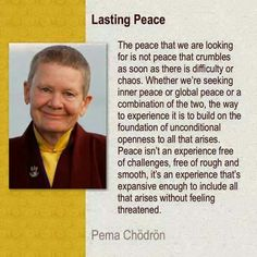 **Pema Chödrön Open to yourself. Buddhist Wisdom, Buddhist Quotes, Spiritual Quotes, Little Buddha, Motivational Quotes, Inspirational Quotes, Pema Chodron, Learning To Let Go, Mindfulness Meditation