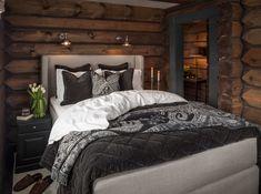 Odel Tind kontinentalseng i ullstoff Kontinentalseng Cabin Interiors, Grand Designs, Beautiful Bedrooms, Furniture, House Ideas, Home Decor, Modern, Interior Design, Home Interior Design