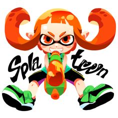 Girl Inkling - Splatoon