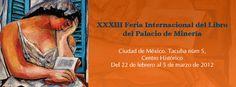 XXXIII Feria Internacional del Libro del Palacio de Minería