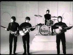 Help! The Beatles performing the title song from the film. - YouTube