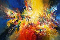 "Saatchi Art Artist Peter Nottrott; Large Abstract Original Painting, ""So Incredible XL 1"" #art"