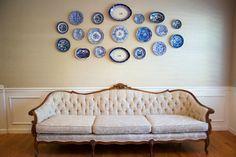 Cream Victorian Sofa {Newcastle Sofa}