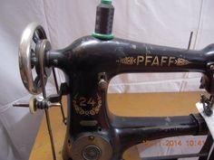Pfaff Ledernähmaschine.Nähmaschine.Stärke bis 6 mm. Vollfunktionsfähig   eBay (Pfaff model 24 sewing machine, left handed sewing machine)