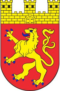 Dębno - Herb - coat of arms - crest of Dębno Coat Of Arms, Poland, Knight, Herbs, Fictional Characters, Coats, Commonwealth, Birthday, Crests