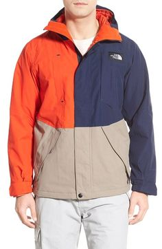 The North Face 'Turn It Up' Active Fit Waterproof Jacket available at #Nordstrom