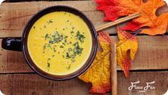 Trust me - you want to try this! Pumpkin Thai Soup: An Intoxicating mix of spices, peanut butter and pumpkin