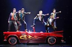 Broadway Musical Grease Will Hit The Royal Caribbean's Stage Grease Broadway, Grease Musical, Musical Car, Musical Theatre, Happy Movie, Drama Stage, Grease Costumes, Theatre Stage, Theater