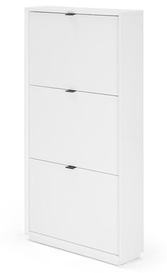 Very slim storage. There's no need to break the bank on stylish storage solutions. Marcell is the on-trend organiser's dream. Perfectly sized, the drop down drawers quickly hide away your favourite shoes. Goodbye clutter. Marcell Shoe Storage Cabinet, £129 MADE.COM