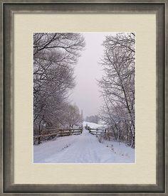 #AnnaMatveeva #Photograph #FineArtAmerica #ForSale #ArtHome #Artdecor #Decor #Homedecor #Fantastically #Beautiful #PrintsForSale #WoodPrints #MetalPrint #FogFramedPrint #Winter #Cristmas #NewYear #Nature #Road #Snow #landscape #Sunset #Countryside   www.pixels.com