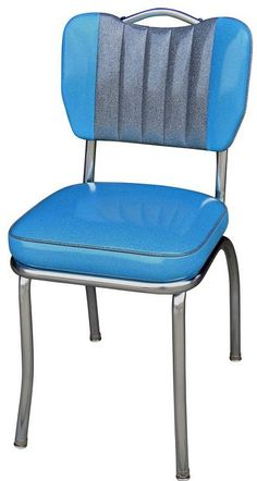 Handle Back Diner Chair | Two Tone Handle Back | Retro Kitchen Chairs
