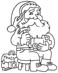 Riscos de Papai Noel para pintura em tecido