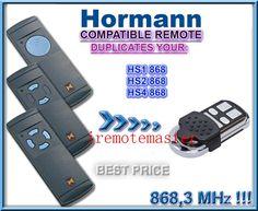 Hormann 868 mhz compatible té Garage Door Springs, Garage Doors, Pegboard Garage, Door Alarms, Garage Door Opener, Lifestyle Trends, Access Control, Garage Design, Garages