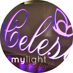 Mylight, Personalised Name Lights and Room Decor Plus Win a Mylight Gift Voucher!