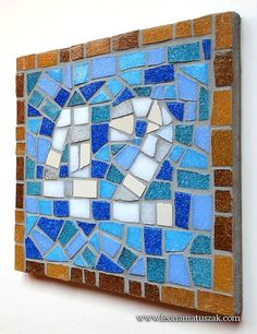 Door Numbers, House Numbers, Secondary Color, Primary Colors, House Address Sign, Ceramic Mosaic Tile, Mosaic Crafts, House Warming