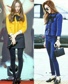 Jessica Jung and F(x) Krystal Jung fashion: Who wore it better?